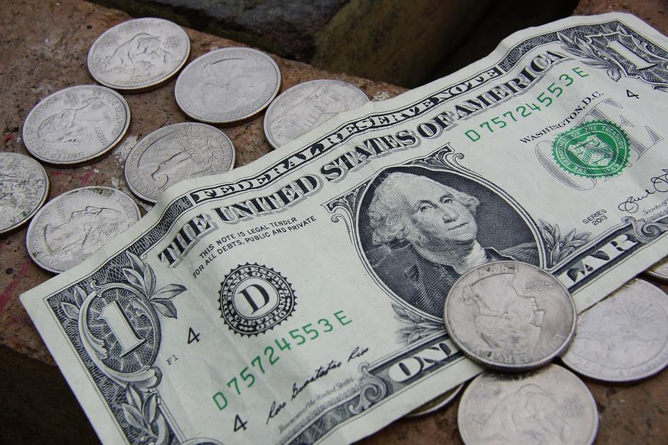 USA peníze