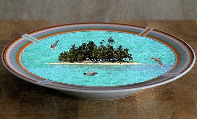 ostrov v polévce