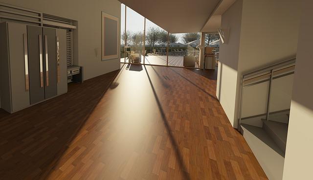 dřevěná podlaha v hale.jpg